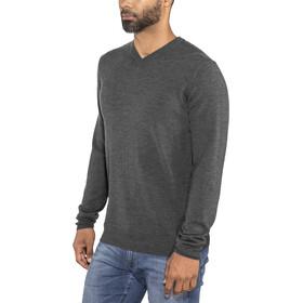 Icebreaker Shearer V Sweater Herr char heather